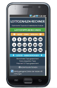 lotto generator app optimierte tipps durch analyse. Black Bedroom Furniture Sets. Home Design Ideas