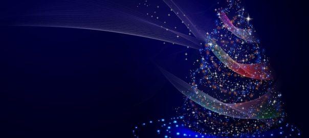 leuchtender Weihnachstbaum
